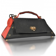 RAIKOU Vegetable-tanned leather shoulder bag